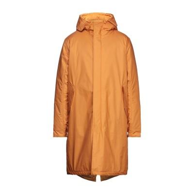 SHU ダウンジャケット オレンジ M ナイロン 100% ダウンジャケット