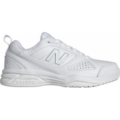 ニューバランス レディース スニーカー シューズ Women's New Balance WX623v3 Training Shoe White/Silver