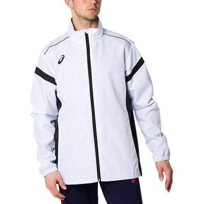 asics/アシックス 2031A898 裏トリコットブレーカージャケット BRILLIANT WHITE(100)スポーツウェア