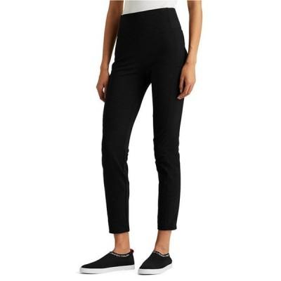 ラルフローレン レディース カジュアルパンツ ボトムス Stretch Cotton-Blend Pull-On Straight Pants