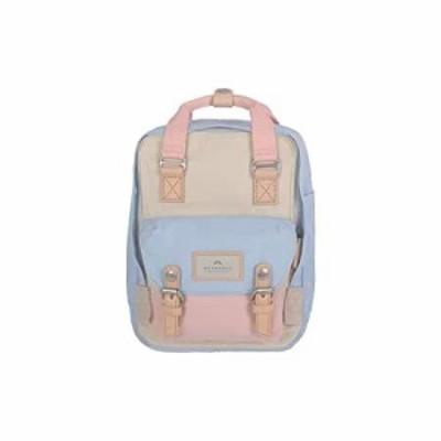[ドーナツ] バッグ マカロンミニバックパック ガールズレディース マルチカラー 7L (Cream X Iceberg X Sakura)