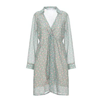 カオス KAOS ミニワンピース&ドレス ライトグリーン 40 ポリエステル 100% ミニワンピース&ドレス