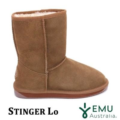 EMU【エミュー/レディース】Stinger Lo/ スティンガー ロー/ チェスナット|W10002  ムートン ブーツ シープスキン レイン 撥水 シューズ スノー