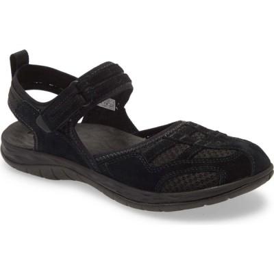 メレル MERRELL レディース サンダル・ミュール シューズ・靴 Siren 2 Wrap Sandal Black Suede