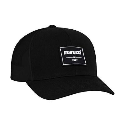 Marucci Sports - Est Rubber Patch Trucker Snapback Black, Black, Adult, Hat