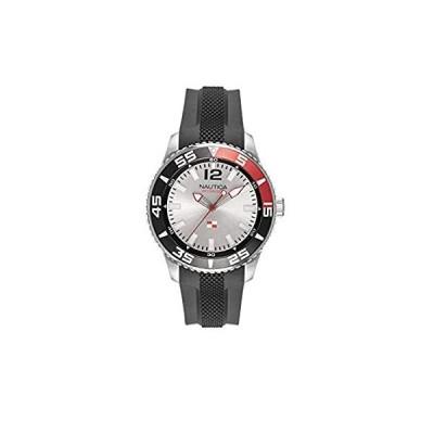 Nautica Unisex Adult Quartz Watch with Silicone Strap NAPPBP904