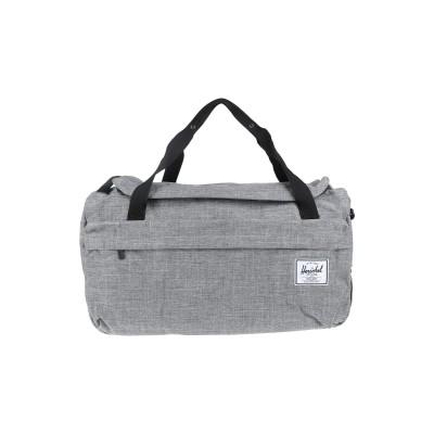 ハーシェル サプライ HERSCHEL SUPPLY CO. 旅行バッグ グレー ポリエステル 100% 旅行バッグ