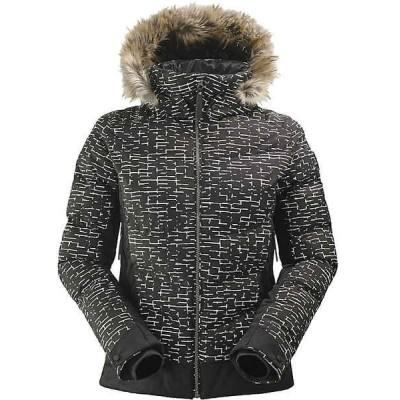 アイダー ジャケット・ブルゾン レディース アウター Eider Women's Downtown Street ES Jacket Black Print