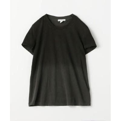 【トゥモローランド】 コットン カラーグラデーションTシャツ WLJ3114SD レディース 18ブラック系 1(M) TOMORROWLAND