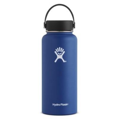 ハイドロフラスク HYDRATION WideMouth 32oz Cobalt (5089025 04) : コバルト 水筒 Hydro Flask