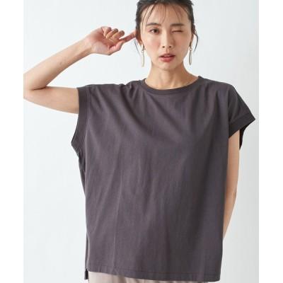 RIVE DROITE / 何枚でも揃えたくなる USコットンタンクTシャツ WOMEN トップス > Tシャツ/カットソー