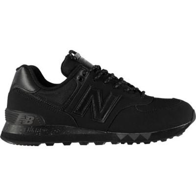 ニューバランス New Balance メンズ スニーカー シューズ・靴 574 Hike Trainers Black Mono