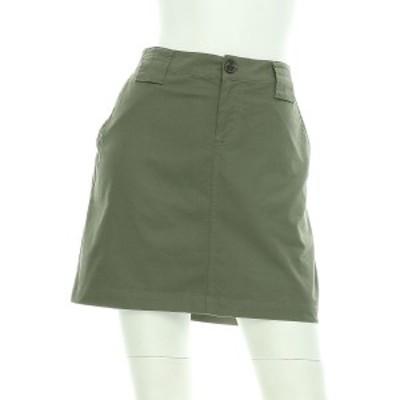 バナナリパブリック BANANA REPUBLIC スカート サイズS レディース 美品 グリーン系 台形スカート【中古】20200918