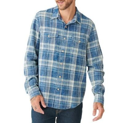 ラッキーブランド メンズ シャツ トップス Redwood Workwear Long-Sleeve Plaid Woven Shirt