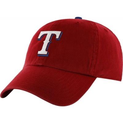 フォーティセブン 47 メンズ キャップ 帽子 ' Texas Rangers Clean Up Red Adjustable Hat