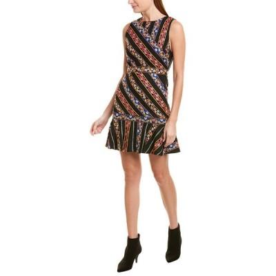 アリス アンド オリビア ワンピース トップス レディース alice + olivia Imani A-Line Dress black multicolor