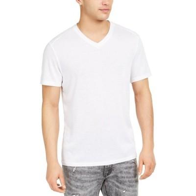 アイエヌシーインターナショナルコンセプト メンズ Tシャツ トップス I.N.C. Men's Perform V-Neck T-Shirt