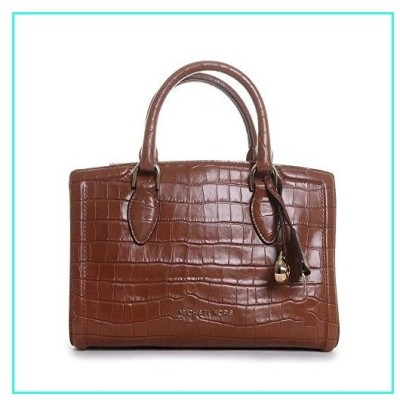 【新品】MICHAEL Michael Kors Zoe Medium Satchel Chestnut One Size(並行輸入品)