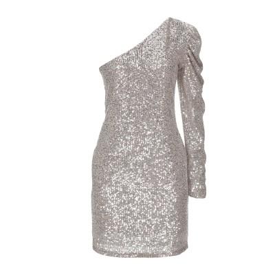 SIMONA-A ミニワンピース&ドレス ローズピンク L ポリエステル 100% ミニワンピース&ドレス