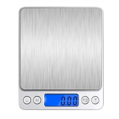 デジタルスケール キッチンスケール 0.01-500g精密 電子スケール クッキン 機能 多用途超小型 精密電子はかり 電子天秤 コンパクト