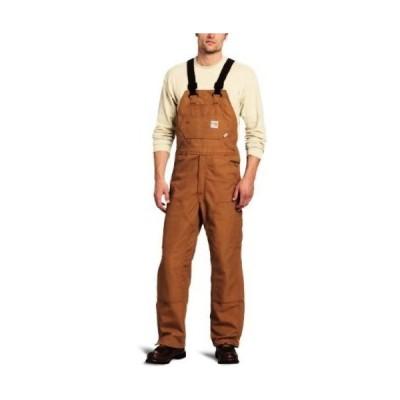 カバーオール ジャンプスーツ カーハート Carhartt スポーツwear - メンズ FRR45-BLK Flame Resistant Duck Bib Carhartt Brown (closeout)