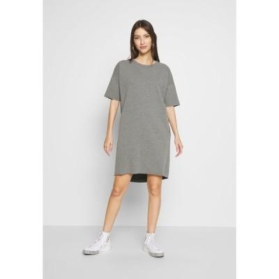ミニマム ワンピース レディース トップス REGITZA DRESS - Jersey dress - dark grey mel