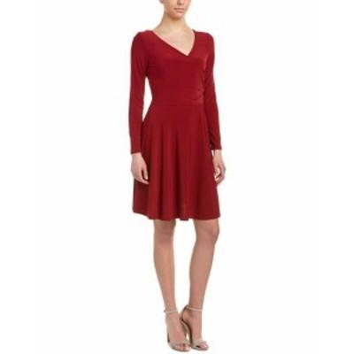 Red  ファッション ドレス Gilli Crossover A-Line Dress M Red