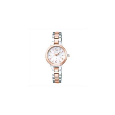 セイコー ルキア ソーラー 電波 時計 レディース 腕時計 SSVW154