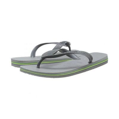 Havaianas ハワイアナス レディース 女性用 シューズ 靴 サンダル Brazil Flip Flops - Steel Grey