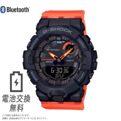 CASIO カシオ Gショック GMA-B800SC-1A4 ボーイズサイズ ブラック オレンジ ミニ 小さめサイズ