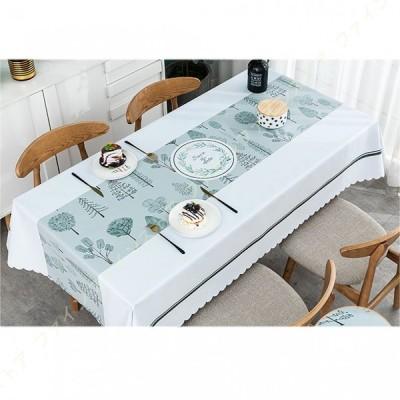 テーブルクロス ビニール PVC製 テーブルカバー 北欧風 防水 防油 耐熱 テーブル キッチン 拭きやすい 撥水 防傷 カラー 汚れ防止 手入れ簡単 長方形