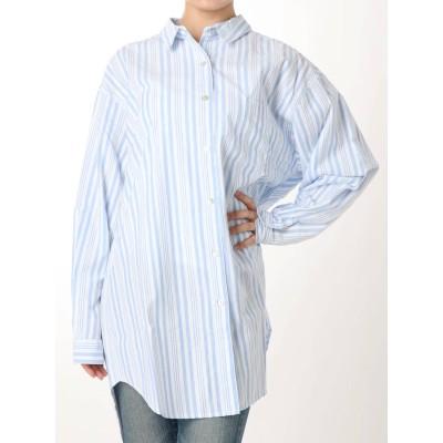 【公式】Ungrid(アングリッド)ビッグルーズストライプシャツ