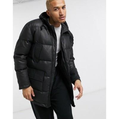 ボロンガロトレバー メンズ コート アウター Bolongaro Trevor padded jacket Black