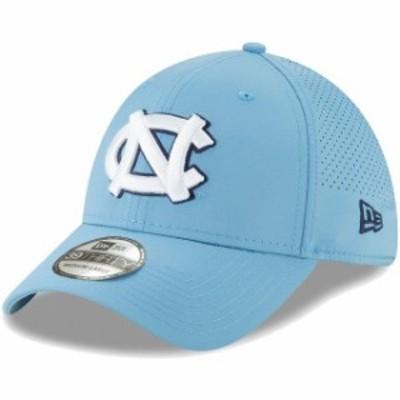 New Era ニュー エラ スポーツ用品  New Era North Carolina Tar Heels Carolina Blue Perforated Play 39THIRTY Flex Hat