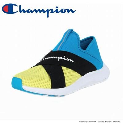チャンピオン Champion 【セール】 メンズ/レディース スニーカー CP ACT022 BEANS FOAM SLIP3 イエロー/ブルー
