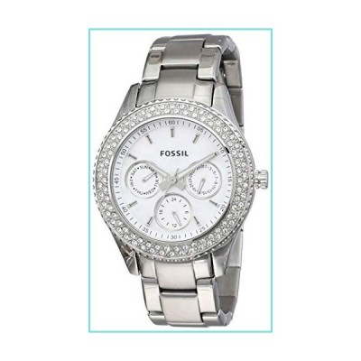 Fossil Women's Stella Analog Dial Watch Silver【並行輸入品】