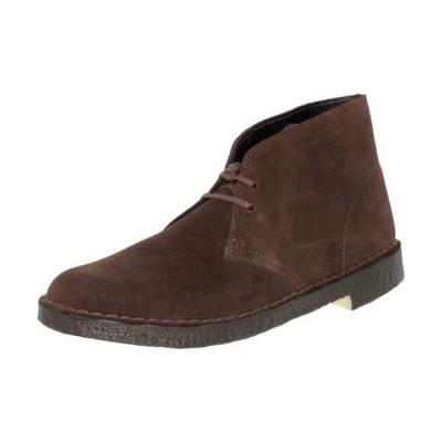 ブーツ クラークス Clarks メンズ Desert ブーツ Core High-Top スエード ブーツ Brown Suede