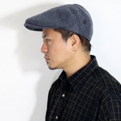 秋 冬 帽子 ハンチング帽 日本製 DAKS ハンチング ウール ダックス メンズ レディース 灰色 グレ
