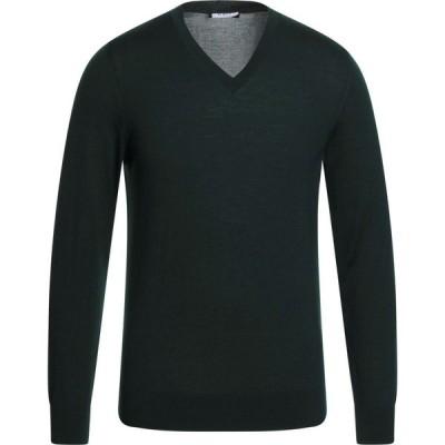 アルファス テューディオ ALPHA STUDIO メンズ ニット・セーター トップス sweater Green
