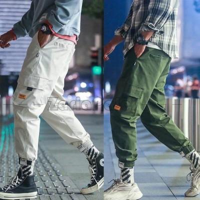 スウェットパンツ メンズ ジョガーパンツ  大きいサイズ  パンツ カーゴパンツ サルエルパンツ 九分丈 春夏新作 S-5XL