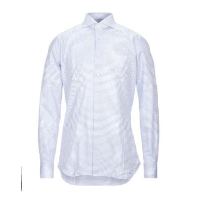 XACUS シャツ ホワイト 39 コットン 100% シャツ