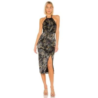 ハウスオブハーロウ1960 House of Harlow 1960 レディース ワンピース ワンピース・ドレス x REVOLVE Milo Dress Noir Paisley Multi