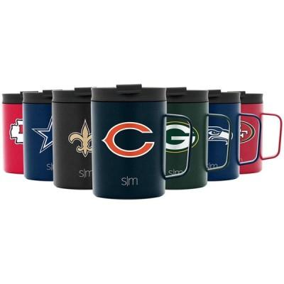 Simple Modern NFL シカゴ・ベアーズ 12オンス コーヒーマグ 断熱 トラベル ステンレススチール スカウト 並行輸入品