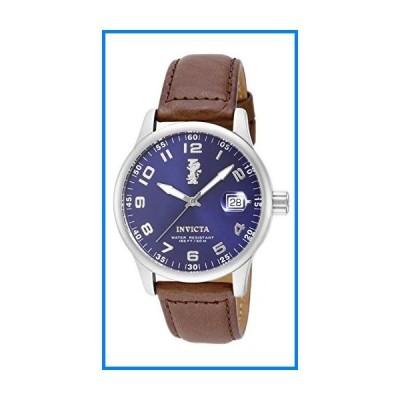 [インビクタ] 腕時計 I-Force 石英 44mm ケース ダークブラウン レザーストラップ 青ダイヤル 15254 メンズ  ブラウン [並行輸