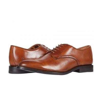 Frye フライ メンズ 男性用 シューズ 靴 オックスフォード 紳士靴 通勤靴 Hamilton Oxford - Cognac Oiled Full Grain