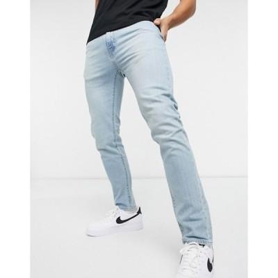 リーバイス メンズ デニムパンツ ボトムス Levi's 510 skinny fit jeans in sideburns tough tings neutral