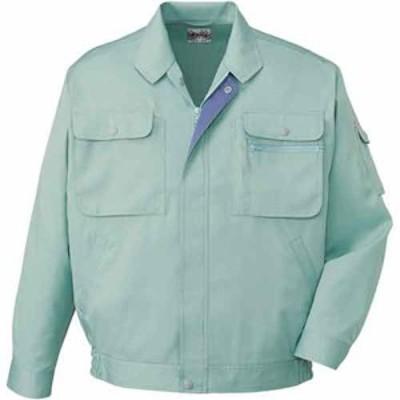 44100 製品制電長袖ブルゾン(自重堂) 社名刺繍無料 S~5L ポリエステル65%・綿35%