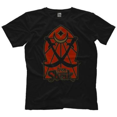 アイアン・シーク Tシャツ「THE IRON SHEIK Crossed Swords Tシャツ」アメリカ直輸入プロレスTシャツ《日本未発売》