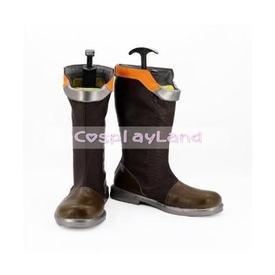 高品質 高級 オーダーメイド ブーツ 靴 オーバーウォッチ 風 OW Tracer Slipstream Skin Cospla