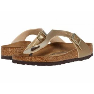 Birkenstock ビルケンシュトック レディース 女性用 シューズ 靴 サンダル Gizeh Birko-Flor(TM) Gold Birko-Flor【送料無料】